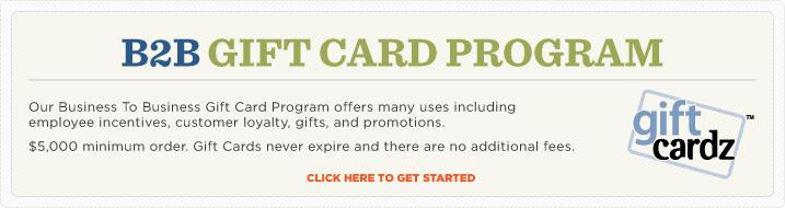B2B Gift Card Program