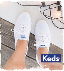 women wearing keds with holes in the toes
