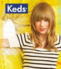 Worn by brave girls around the world, including Taylor Swift, Keds