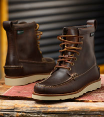Eastland Lumber Up Brown Leather Work Boot