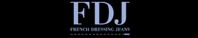 FDJ French Dressing Jeans Logo