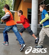asics kids sneakers
