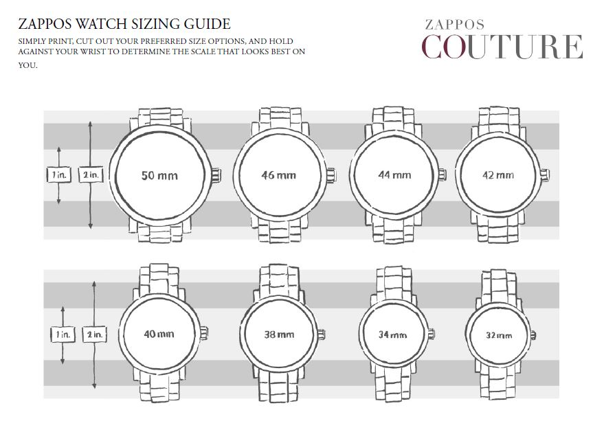 Sku 8535099 Watch Sizing Guide