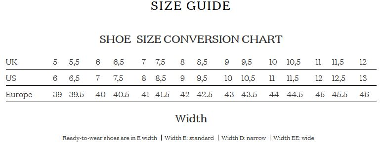 Mens Shoe Size Width Ibovnathandedecker