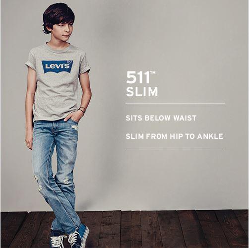 Levi's® Kids 511™ Slim Jeans (Big Kids