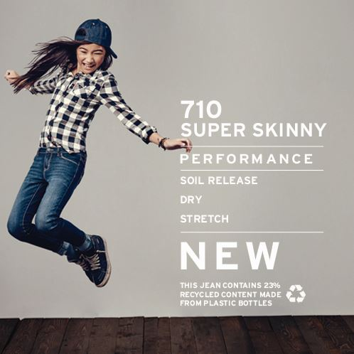 45718f9775a5 The 710™ Super Skinny Fit Performance Jeans are absolutely essential for  her denim collection.