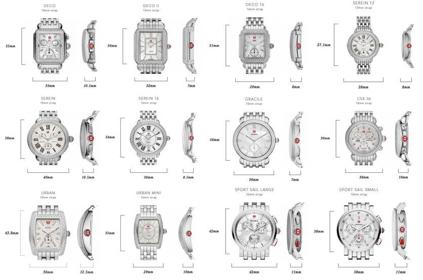 Michele Serein 16, Diamond Dial Silver/Steel Watch Head at Zappos.com