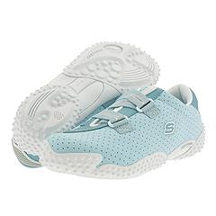 Skechers Kids - Bugaboos (Youth) (Light Blue/White) - Kids
