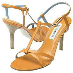 Steve Madden - Trinity (Orange Leather) - Women's