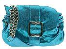 BCBGirls Handbags - It's a Cinch Metallic Flap (Aqua) - Accessories