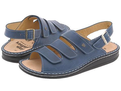Finn Comfort Sylt - 82509 - Jeans Toscana Soft Footbed