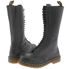 Dr. Martens - 1942 Series (Black Fine Haircell) Boots