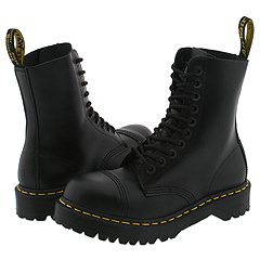 Dr. Martens - 8761 (Black Fine Haircell) Boots