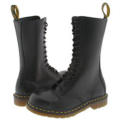 Dr. Martens - 1940 (Black Fine Haircell) Boots