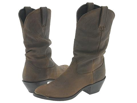Durango - 11 Slouch Boot (Brown) - Footwear