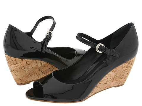 Franco Sarto - Fashion (Black Patent) - Footwear