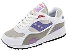 Saucony - Shadow 6000 (White/Grey/Amethyst/Pomegranite) - Footwear