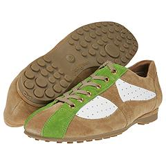Paul Green - Mirage (Natural/Green/White Suede) - Women's Designer Collection