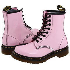 Dr. Martens - 1460 W (Baby Pink Patent) Boots