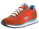 KangaROOS - Lotus Nylon/Suede Jogger (Orange/Blue) - Women's