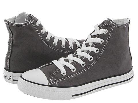 Converse Kids Chuck Taylor® All Star® Core Hi (Little Kid) - Charcoal