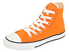 Converse Kids - Chuck Taylor All Star Hi (Toddler/Youth) (Orange) - Footwear