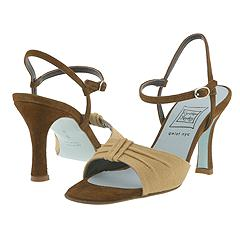 Cynthia Rowley - Tahoe (Natural Linen/Espresso Suede) - Women's Designer Collection