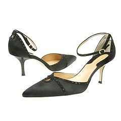 Donna Karan Alexis Ankle-strap D'Orsay Pump    Manolo Likes!  Click!