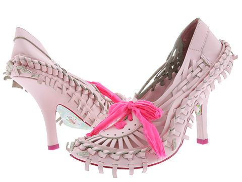 Irregular Choice pink ribbon