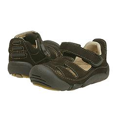 Stride Rite - Skip (Infant/Children) (Dark Brown) - Kids