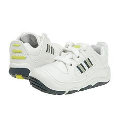 Stride Rite - Scooter (Infant/Children) (White/Classic Navy) - Kids
