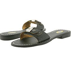 Dr. Scholl's Flat Out   Black   Manolo Likes for the Beach!  Click!