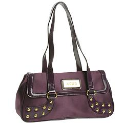 XOXO Handbags - Rocker Flap Shoulder (Plum)