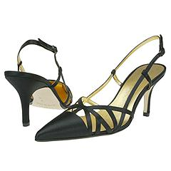 Anne Klein New York - Papaya (Black Satin) - Women's