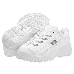 Fila Kids - Anzio (Youth) (White-Silver) - Kids