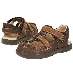 Stride Rite - Baby Aidan (Infant/Children) (Dark Brown) - Kids
