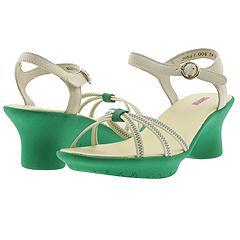 Camper - Penelope- 29641 (Green/White) - Women's
