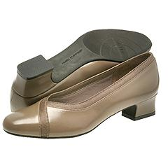 Hush Puppies - Devine (Taupe Smooth/Faille) - Women's