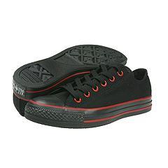 Converse - All Star Goth Ox (Black/Red) - Men's