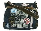Triple 5 Soul Bags - Denim Shoulder Tote (Denim) - Accessories