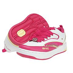 Rhino Red by Marc Ecko Kids - Hoover - Kurly (Youth) (White/Hot Pink/Yellow) - Kids
