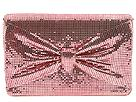 Whiting & Davis Handbags - Bow E/W Clutch (Pink) - Accessories