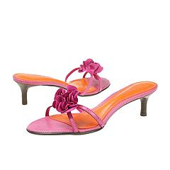 Lauren by Ralph Lauren - Jasmin (Hot Pink African Lizard) - Women's