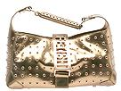 Fetish by Eve Handbags - Metallic Nameplate E/W Tote (Copper) - Juniors