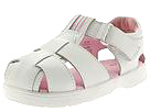 Stride Rite - First Mate Girl (Infant/Toddler) (White Leather Fullgrain) - Kids