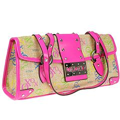 XOXO Handbags - Glam Slam Flap Handle (Fuschia) - Accessories