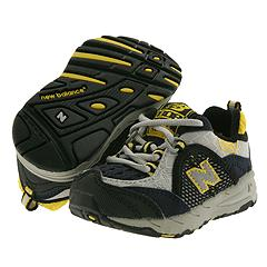 New Balance Kids - KJ 808 (Infant/Children) (Black/Yellow) - Kids