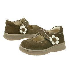 Kid Express - Marie (Infant/Children) (Dark Brown Suede)
