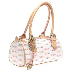 XOXO Handbags - Prism Log Satchel (White) - Juniors