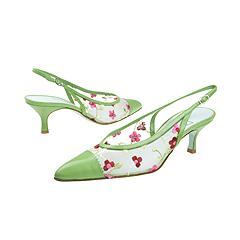 Cynthia Rowley - Thirty (Green/Nude Mesh) Manolo Likes!   Click!